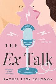 cover of The Ex Talk: a microphone is in the center, with a woman's mouth open to the left of it and a man's mouth open to the right of it